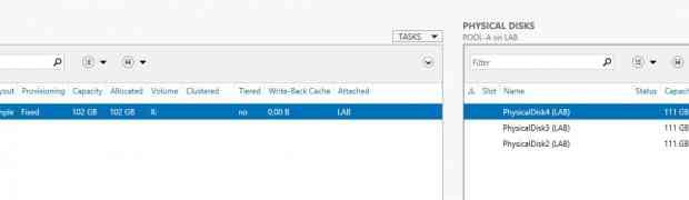 Le write-back cache dans Windows 2012 R2