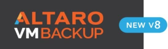 Altaro Backup V8 et Windows 2019