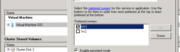 Maintenance d'un hôte Hyper-V